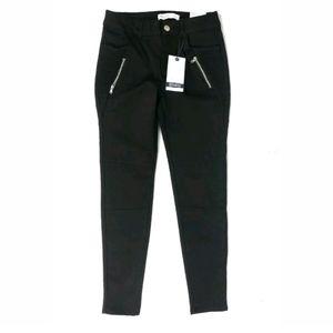 NWT Zara black mid rise skinny ankle jeans